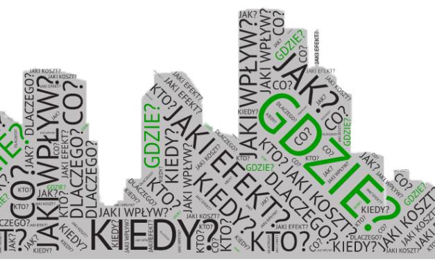 Dane przestrzenne w zarządzaniu miastem inteligentnym