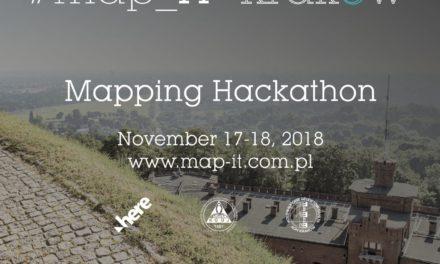 #MAPIT MAPPING HACKATHON, 17-18.11.2018 KRAKÓW