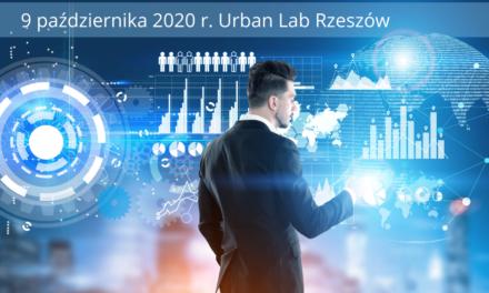"""KONFERENCJA OGÓLNOPOLSKA PT. """"OTWARTE DANE MIEJSKIE W TEORII I PRAKTYCE"""" – 9.10.2020, RzESZÓW"""
