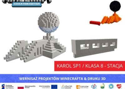 Karol SP1 _klasa 8 - stacja